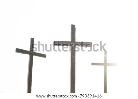 Free Photos Christian Cross Old Wood On Wooden Background