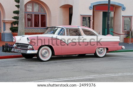 1955 crown victoria painted as
