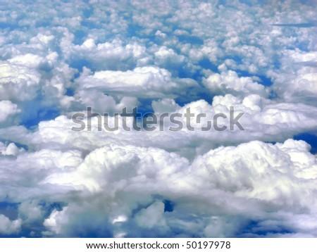 Cumulus humilis - clouds