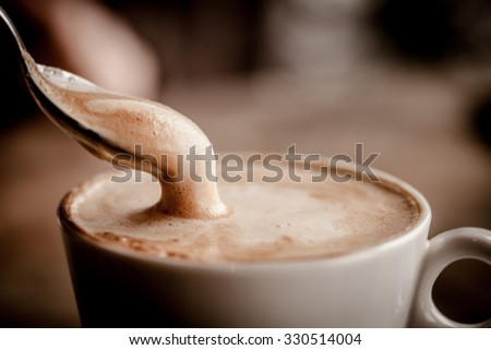 Shutterstock  Cup of Cappuccino Coffee