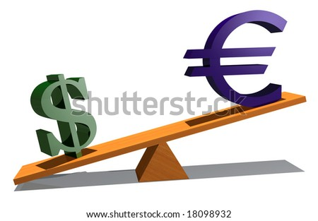 currency measurement - stock photo