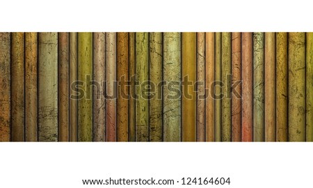 3d abstract backdrop tube grunge pattern in orange,yellow and pink