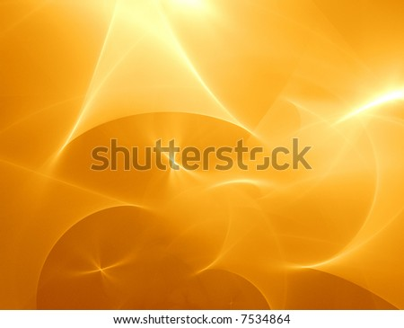 3D Abstract Background Illustration with hi detail - Sand Storm