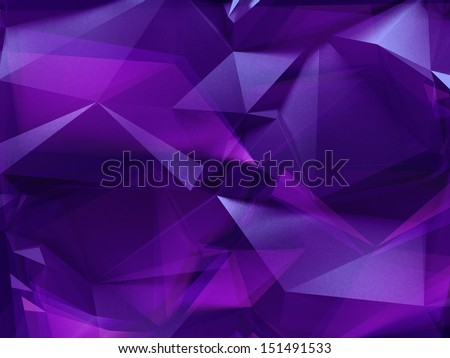 3d abstract crystal background, ultraviolet light, purple faceted wall, fashion wallpaper, violet gem macro texture