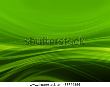 3d abstract green background