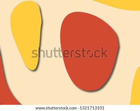 3D abstract paper art style, design layout for business presentations, flyers, posters, prints, decoration, cards, brochure cover.Paper cut background. Abstract realistic paper decoration for design #1321713101