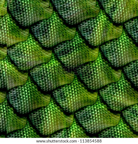 3d abstract seamless snake skin reptile scale stock photo for Do all fish have scales