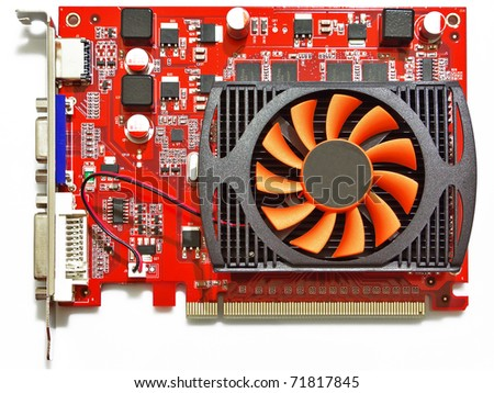 3D accelerator computer graphic card
