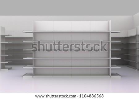 3D Aisle in Departmental store