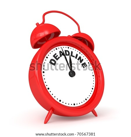3d alarm-clock with DEADLINE