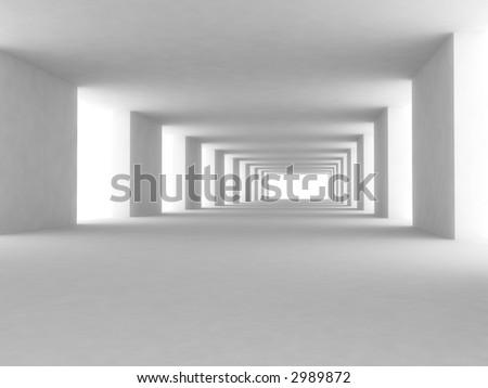 3d--architecture - stock photo