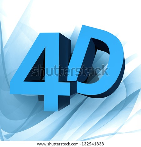 4D background