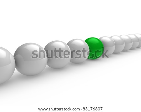 3d, ball, green, white, network, sphere, team