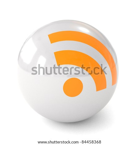 3d ball icon RSS