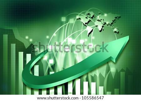 3d business graphs