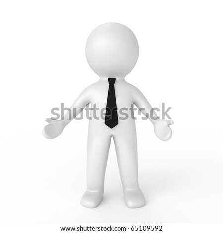 3d businessman from my 3d human collection