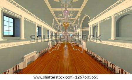 3D CG rendering of residence #1267605655
