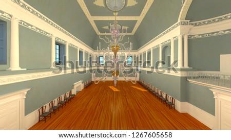 3D CG rendering of residence #1267605658