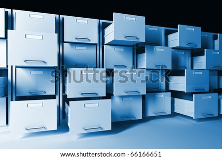 3d classic  file cabinet background