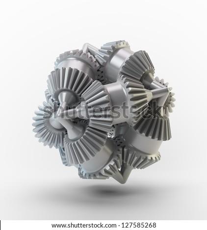 3D cogs - brain cog object