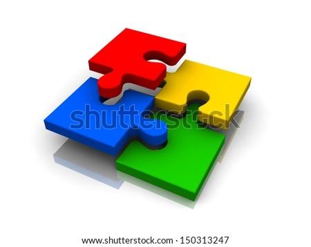 3d color puzzle