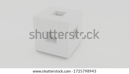 3d cube illustrastion backgrounf küp Stok fotoğraf ©