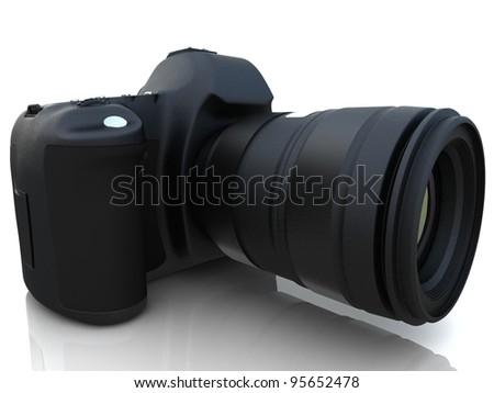 3D digital photo camera