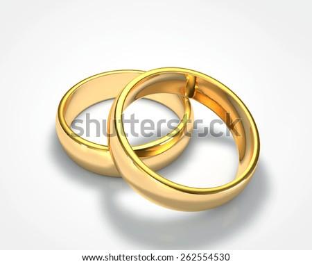 3d Drawing Realistic Gold Ring Set 1 Ez Canvas