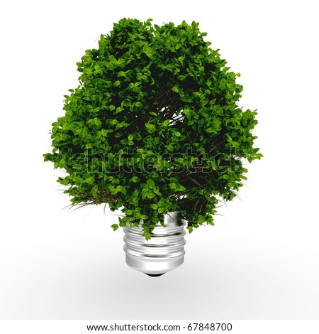 3d Eco energy concept