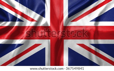3D Flag of England #367549841