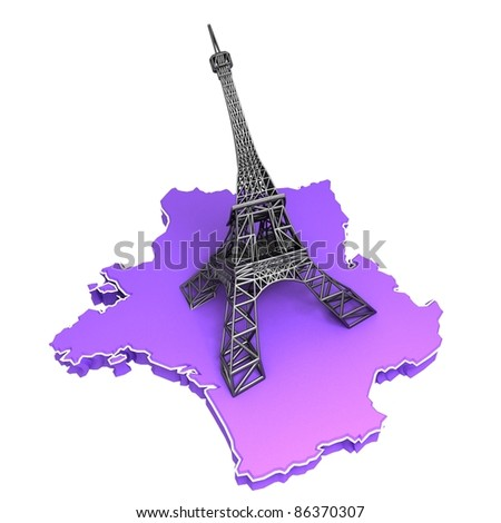 3d France Illustration