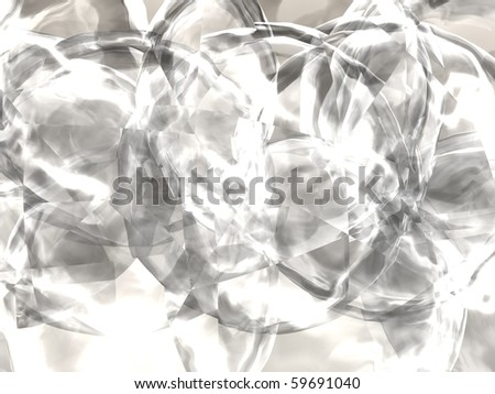 3d generated crystal background