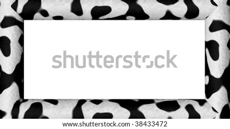 Black and White Cow Pattern Spandex Lycra Uni Zentai Suit - $45.00