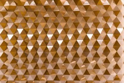 3D geometric texture in copper