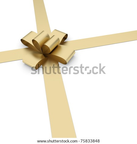 3d gift bow