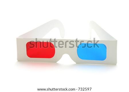 3-D Glasses - stock photo