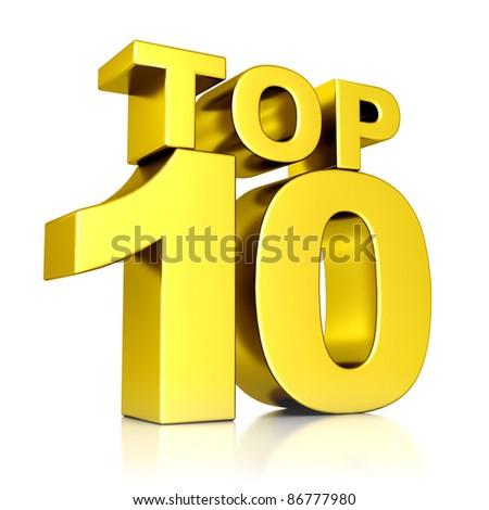 3d golden Top 10