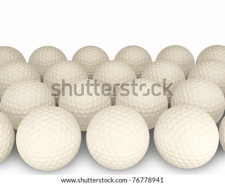 3d Golf balls