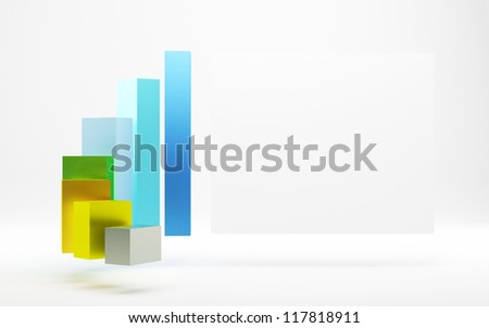 3d graph and board