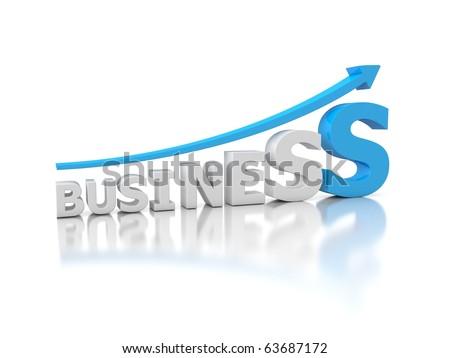 3d graph in business logo design