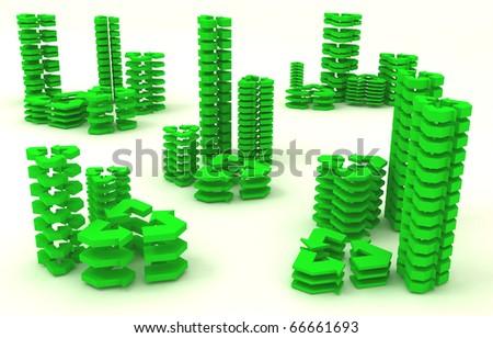 3d green eco city