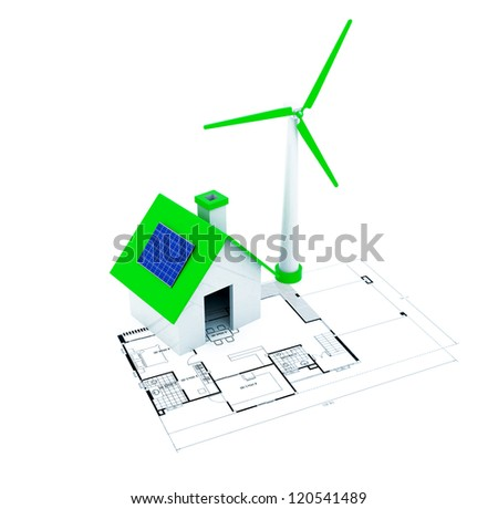 3D green energy with little home
