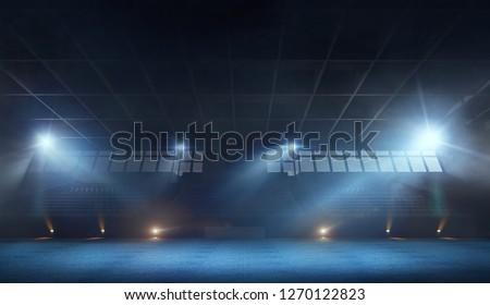 3D GYMNASTIC STADIUM