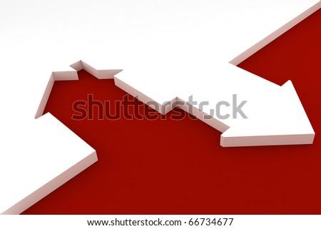 3d house shape metaphor