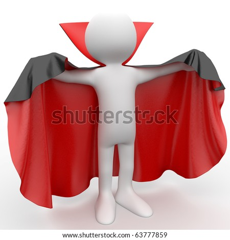 3D human dressed in a red cape and black.jpg