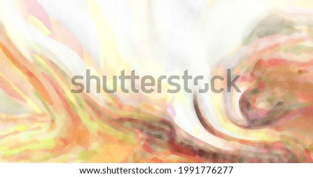 2d illustration. Artistic background image. Abstract painting on canvas. Contemporary art. Hand made painting. Colorful texture. Modern artwork. Painting with brushstrokes of watercolor on surface.