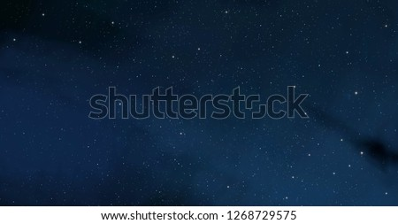 2d illustration. Deep vast space. Stars, planets and moons. Various science fiction creative backdrops. Space art. Alien solar systems. Realistic background