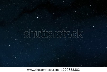 2d illustration. Deep vast space. Stars, planets and moons. Various science fiction creative backdrops. Space art. Alien solar systems. Realistic background cosmos. #1270838383