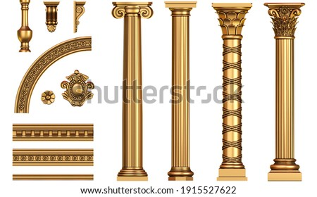 3d illustration. Futuristic stand or podium background for logo. High energy. Mock up Stockfoto ©