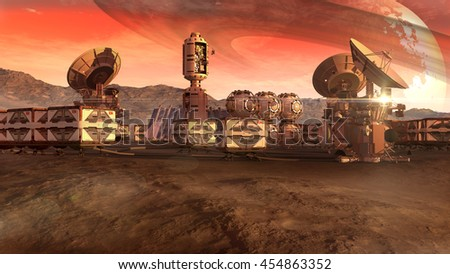 stock-photo--d-illustration-of-a-colony-